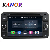 KANOR 6 2 Android 6 0 Car GPS DVD Player For Suzuki Jimny 2007 2013 With