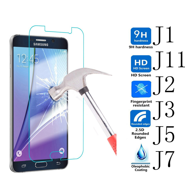 US $3 49 |3/lot For J2 J3 J5 J7 Prime 2017 J710 J510 J310 J210 J120 2016  Mini Pro Samsung Galaxy Tempered Glass Screen Protector Film Case on