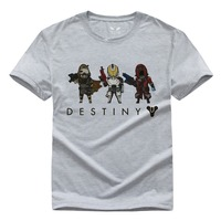 PS4 XBOXONE Fate Destiny Pure Cotton Round Collar Men S Short Sleeve T Shirt 003