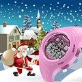 Дети Смотреть Мода САНДА Марка Цифровые Наручные Часы Водонепроницаемые Случайные Дети Часы Мальчик Девочка Студентов Наручные Часы Рождественский Подарок