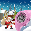 As crianças Assistem Moda SANDA Marca Digital relógios de Pulso Relógio À Prova D' Água Crianças Casuais Menino Menina Estudantes Relógio De Pulso Presente de Natal