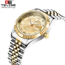 TEVISE Automatic Self-Wind Man Wristwaches Men Mechanical Watch Luminous Watches Auto date Watch Male Clock Relogio Masculino цена