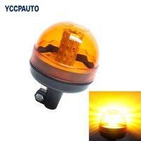 Motocykl Awaryjne Hazard Warning Beacon Strobe Bursztynowe Światło Bezpieczne Amber LED Flash Światła Plus Coaster 5730 40SMD 12-24 V 15 W 1 pc