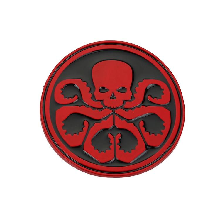 Heil Hydra-Red Captain Hebilla de cinturón de calavera roja - Artes, artesanía y costura