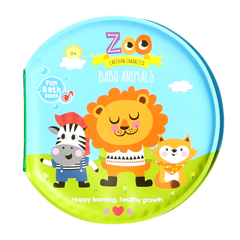 Baby Toys 0 12 Months Books For Babies Waterproof 4 Pages Animal ...