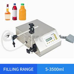 Точность цифровой разливочная машина светодиодный духи пить воду машина для фасовки молока флакон наполнитель 5-3500 мл