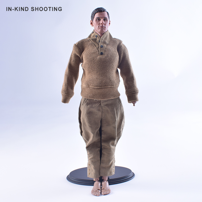 Model Clothing-Accessories Soldier Dragon Wwii German Body Khaki 1/6-Scale Dark Trousers
