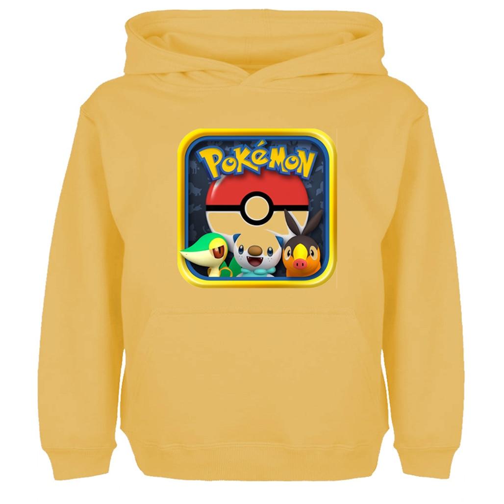 Sudadera con Capucha para ni/ño Color Gris Pokemon Pokeball