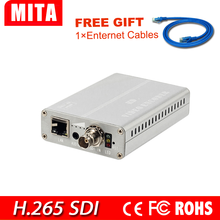 HD SDI H.265 encoder iptv WiFi para IP stream a Youtube Facebook Wowza Ustream