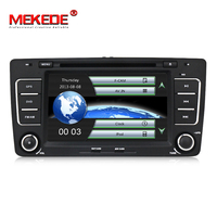 MEKEDE Car Multimedia player GPS Autoradio 2 Din 7 Inch For SKODA Octavia 2009 2013 Bluetooth IPOD FM Radio RDS WIFI DVR SD