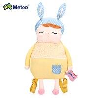 Metoo ילדי שקיות קריקטורה בעלי חיים בובת תרמיל קטיפה תיק כתף ילדי צעצוע לגן ילדים הילדה אנג 'לה ארנב Metoo תרמיל