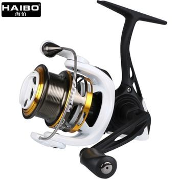 Haibo rumak w całości z metalu Spinning Fishing Reel 8BB + 1RB 5.2: 1 High Speed płytkie szpula przynęta kołowrotek rozmiar 10S 20S 30S 40S