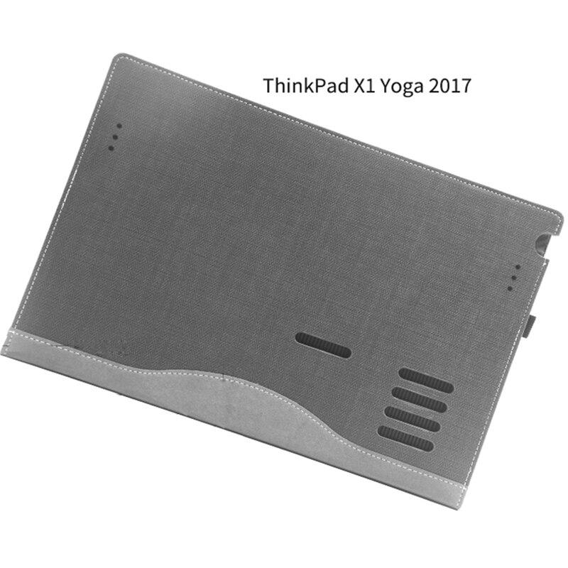 Housse détachable pour Lenovo ThinkPad X1 Yoga 2017 14 pouces pochette pour ordinateur portable sacoche pour ordinateur portable tablette PU cuir protection peau cadeau - 4