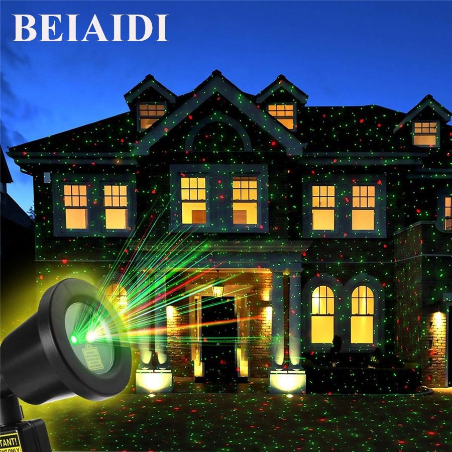 USB LED Solar Motion Sencer Light Laser Projector Star Lights Outdoor Decor Lamp