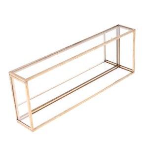 Image 2 - Phenovo مستطيل مربع المجوهرات الزجاج علبة مجوهرات منضدية نبات عصاري صندوق لغرس المزروعات مربع المجوهرات الزجاج علب للمجوهرات عرض