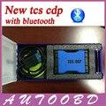 A mais nova Versão 2014. R2 TCS CDP Pro Com Bluetooth para o OBD II carros/Caminhões/Genérico 3 Em 1 Azul Novo VCI CDP com caixa De Plástico