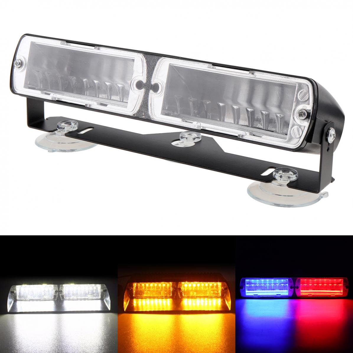 Luz Led Intermitente 16led 48 W Viper S2 Super Brillante Señal Led Intermitente Luz De Advertencia De Policía Strobe