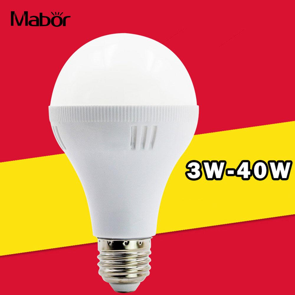 Bright Smart Light Bulb LED Bulb AC 220V 5W with Hook 800lm Emergency Lamp Indoor Outdoor Lighting Fixture Household Accessory