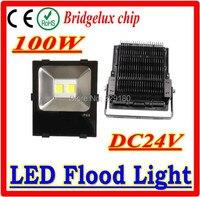 100 W holofote DC24V luz de inundação quente / Natural branco / fresco branco IP65 à prova d ' água com chip de Bridgelux 3 anos de garantia