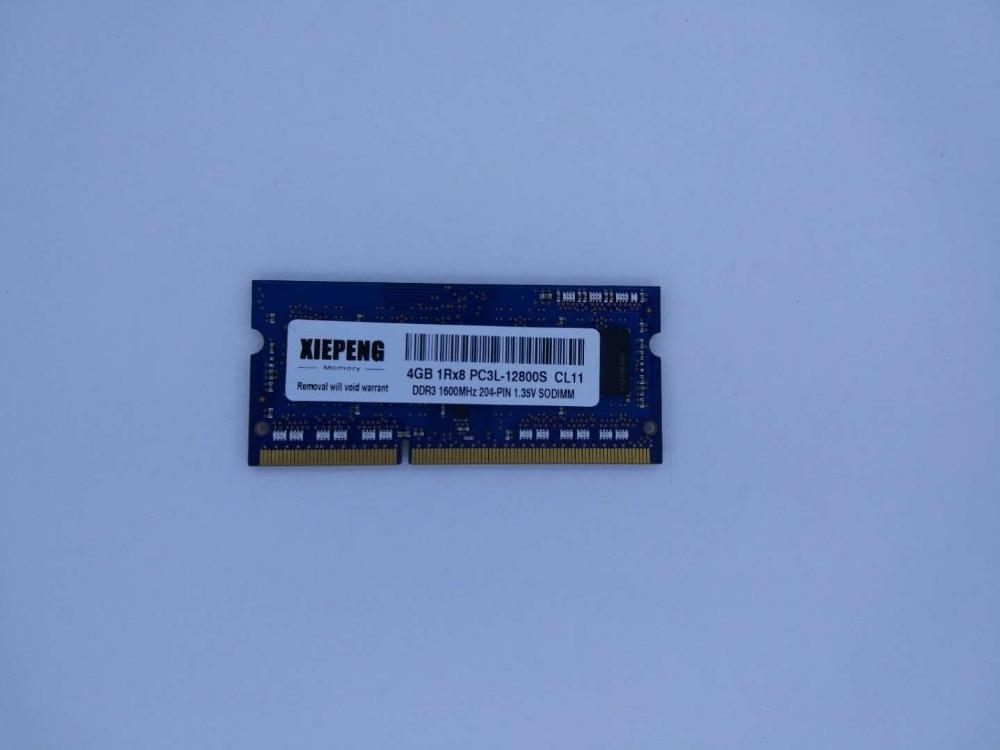 4GB 1RX8 DDR3L 1600S