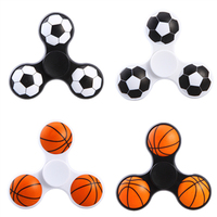 Football Baseketball Hand Spinners Plastic ABS Fidget Spinner For Autism EDC and ADHD Anti Stress Toy