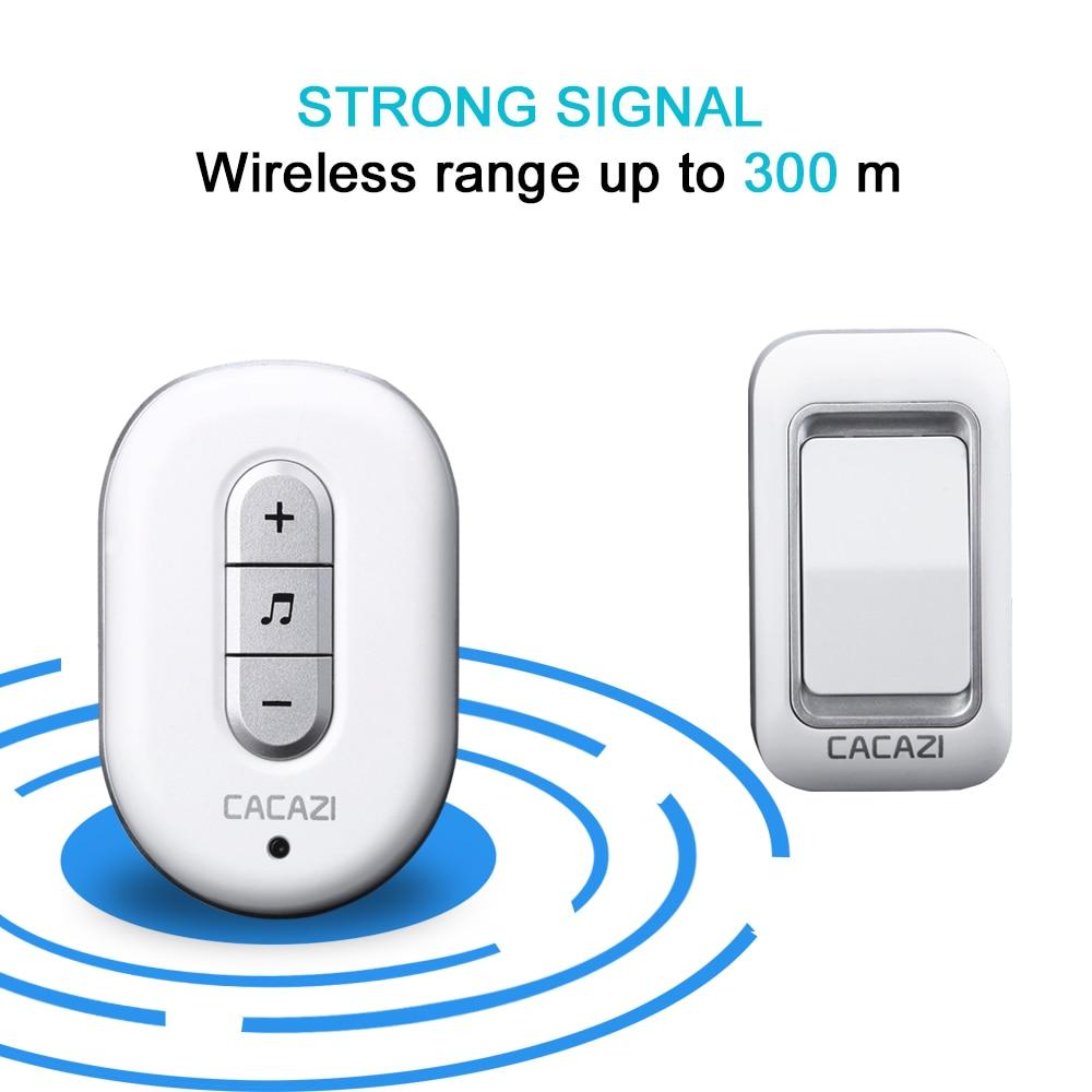 Doorbell Push Button Receiver not included Door Bell Transmitter