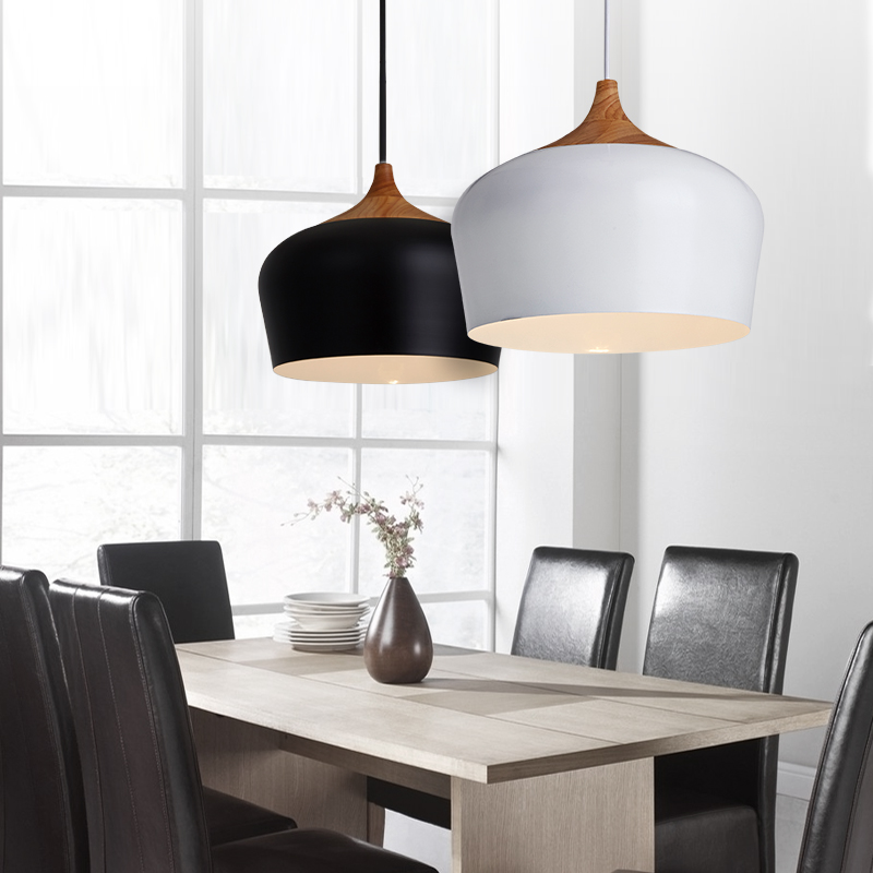 Modern Pendant Lights Lamparas Luminaire kitchen Dining Room Lights retro vintage Pendant Lamp For Home restaurant