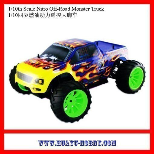 hsp cars 1 10th Scale nitro engine Off Road Monster Truck car 94108 RTR