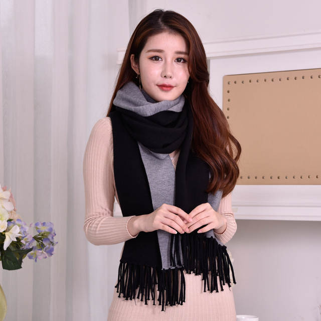 dda78c369c7 Women Winter Poncho Thick Sleeve Shawls and Wraps for Ladies Pashmina Shawl  Winter Scarf Stoles Warm Feminino Ponchos and Capes
