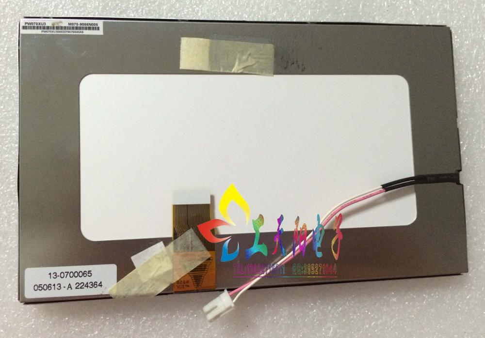 New 7 inch LCD screen PW070XU3 display screen PVI new 7 inch