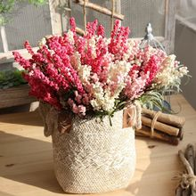 7 Branch Artificial Lavender PE Silk Flower Wedding Arrangement Home Decoration 4 Colours