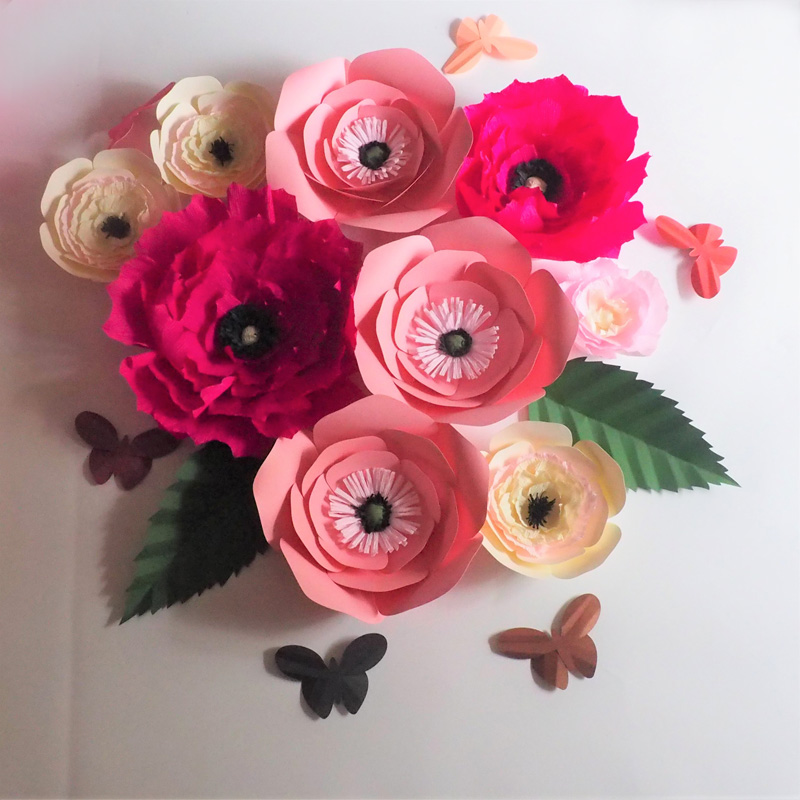 Buy unique paper flowers and get free shipping on aliexpress mightylinksfo