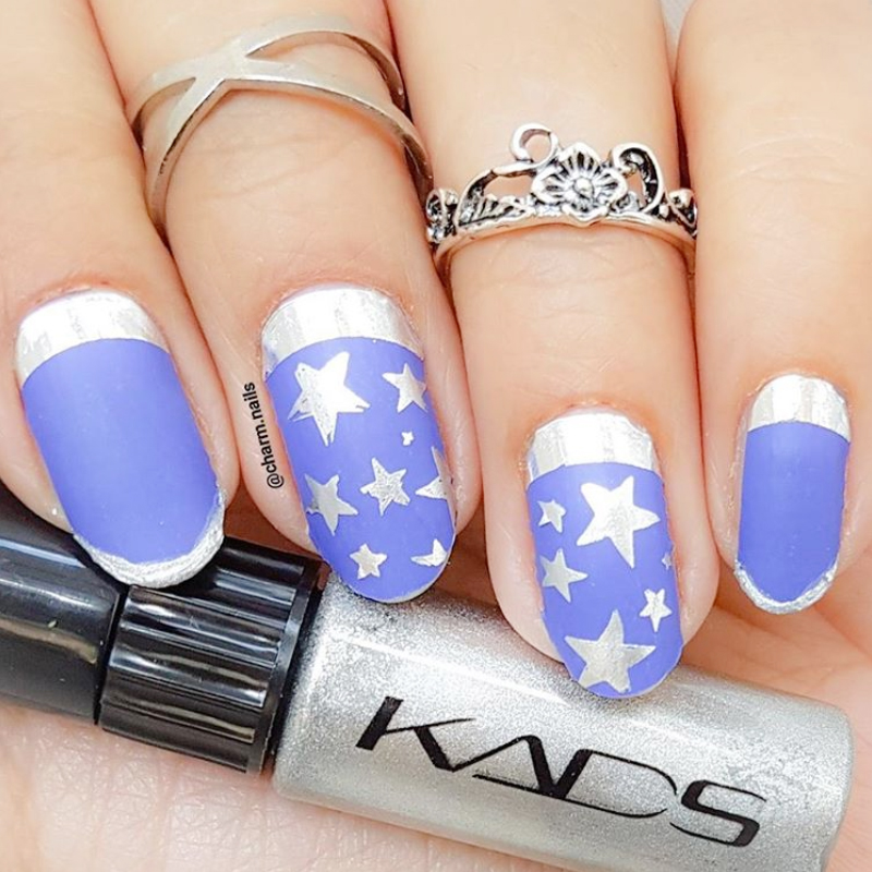 KADS New Trend 4pcs/set Nail Art Stamping Polish High Quality Nail ...