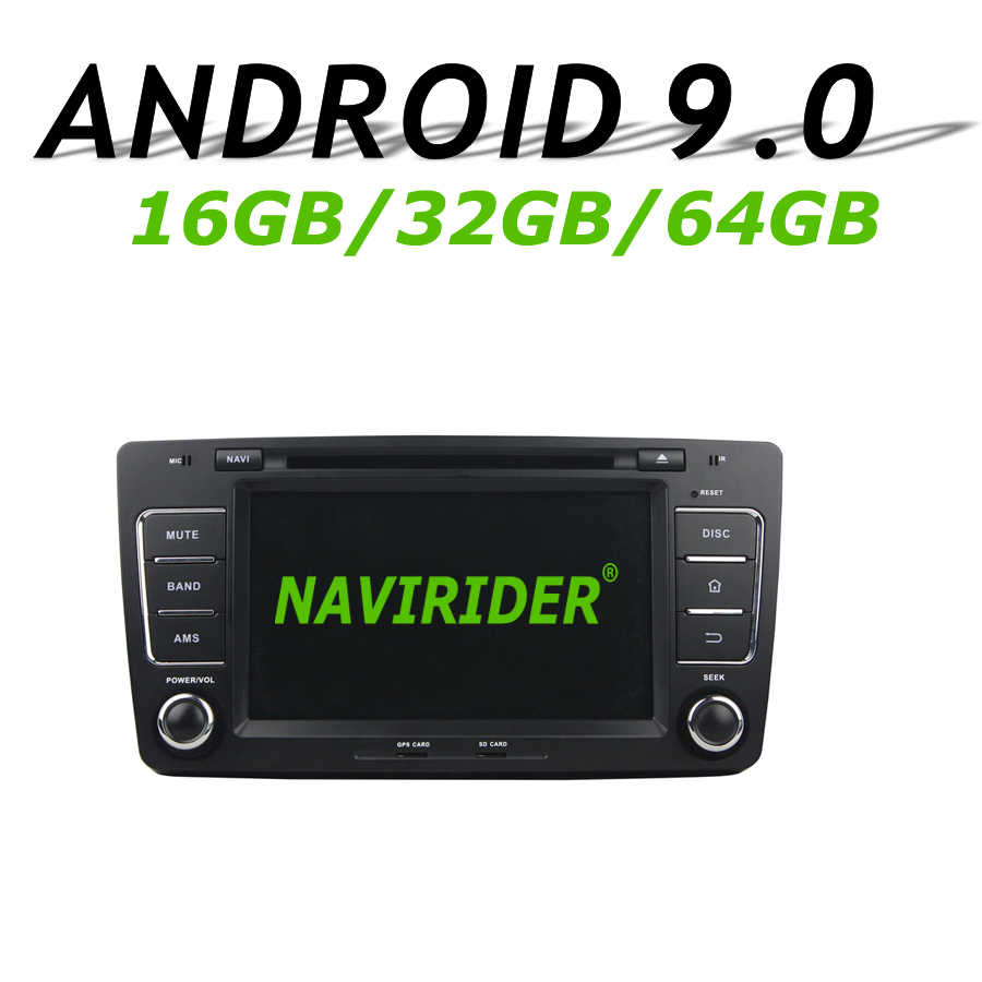 High configuration Octa Core Android 9.0 Car GPS For SKODA OCTAVIA 2012 navigation Car Radio bluetooth 64GB large memoryHigh configuration Octa Core Android 9.0 Car GPS For SKODA OCTAVIA 2012 navigation Car Radio bluetooth 64GB large memory