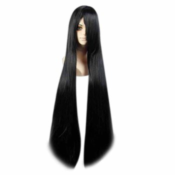Женские Длинные прямые синтетические волосы MCOSER, 30 цветов, для костюмированной вечеринки, полный парик из 100% высокотемпературного волокна, KW-012 для волос