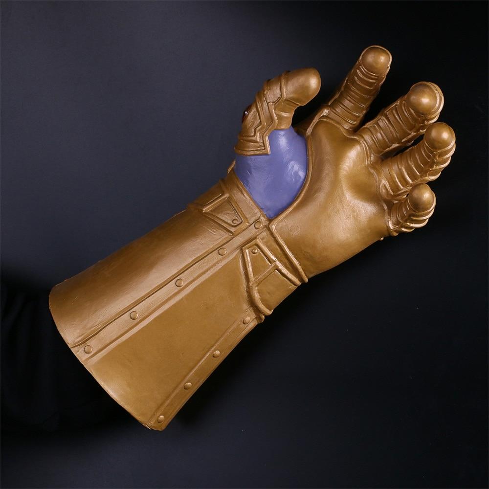 The Avengers Thanos Infinity Gauntlet Cosplay Gloves Prop Halloween Hard Latex Avengers: Infinity War Mask 3
