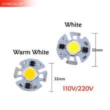 COB Chip Bulb Lamp Source Led Light No Need Driver With Smart IC 5W 7W 3W 9W AC 220V 110V White DIY LED Floodlight Spotlight JQ