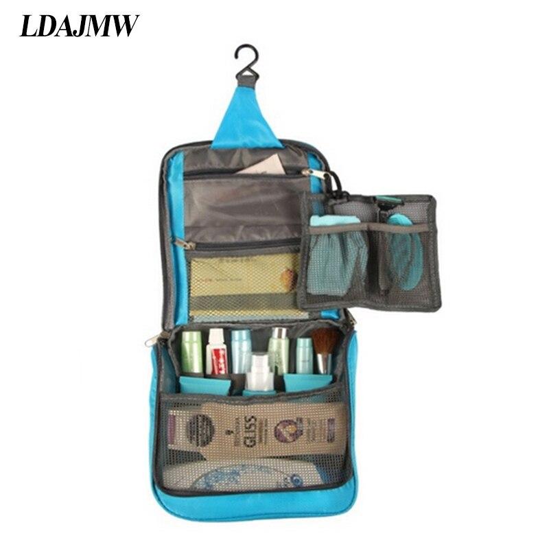 Fashion Travel Portable Large Capacity Oxford Washing Cosmetics Storage bags Wat