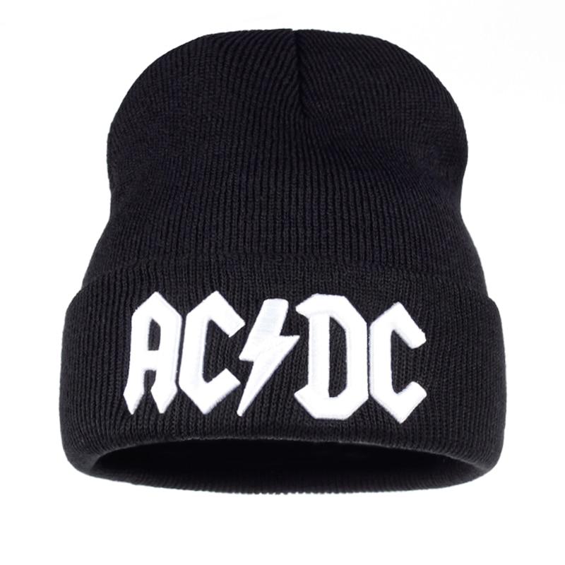 8b5e480fa80 TUNICA Men Women Winter Warm Beanie Hat Rock ACDC AC DC Rock Band Warm  Winter