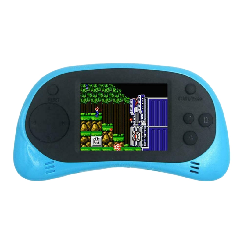 Coolbaby Rs-8A Mini Video Game Console 8 Bit 2.5 Inch Game Player Built-In 260 Games Accessories For Gba Can Connect To Tv(Blu