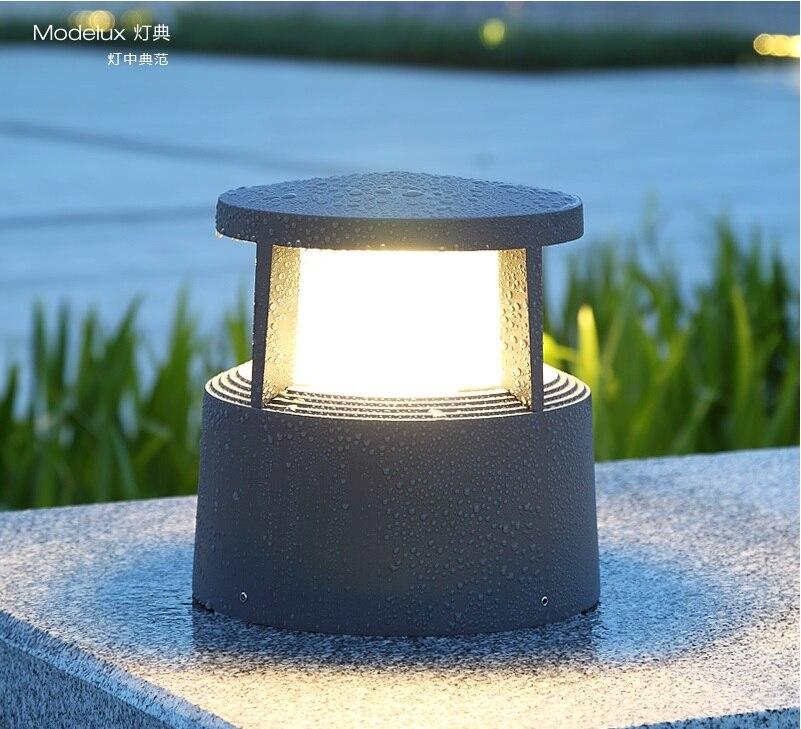 Us 850 0 Lighthouse Garden Post Light Beacon Inspired Pedestal Lighting Fixture Rainproof Aluminum Housing In Outdoor Landscape From