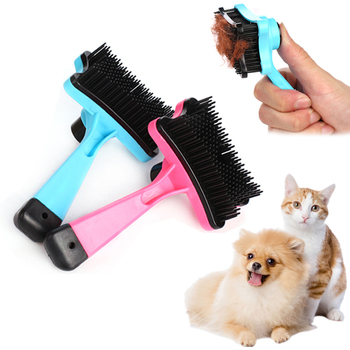 Pet Dog Cat Brush For Cats Puppy Gatos Accessories Grooming Comb Mascotas Products For Small Dogs Pets Supplies kedi malzemeleri Cat Grooming