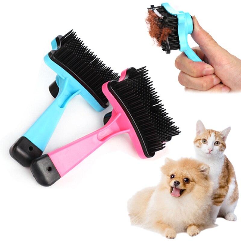 Szczotka dla kota dla kotów szczenięta Gatos akcesoria grzebień groomerski Mascotas produkty dla małych psów zaopatrzenie dla zwierząt domowych kedi malzemeleri