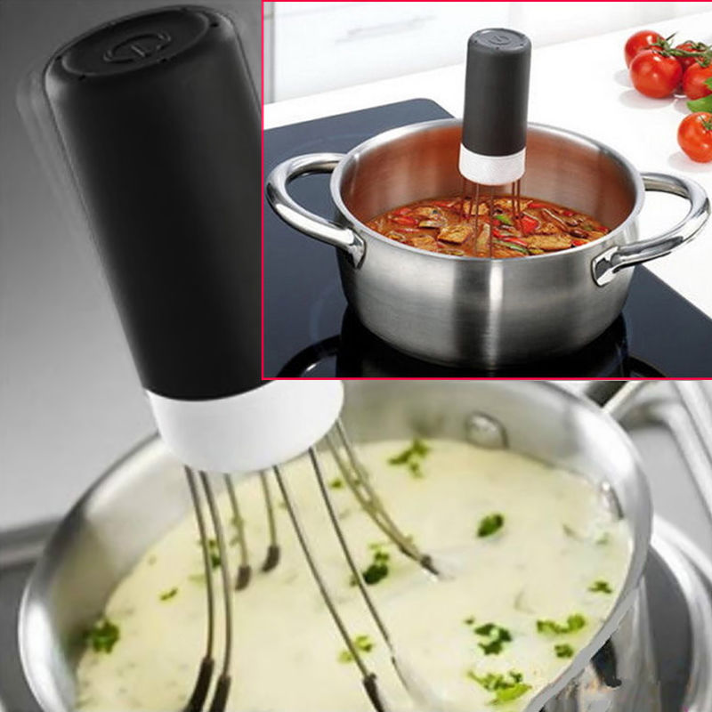 1pcs Hot 3 Speeds Cordless Stir Crazy Stick Blender mixer Automatic Hands Free Kitchen Utensil font