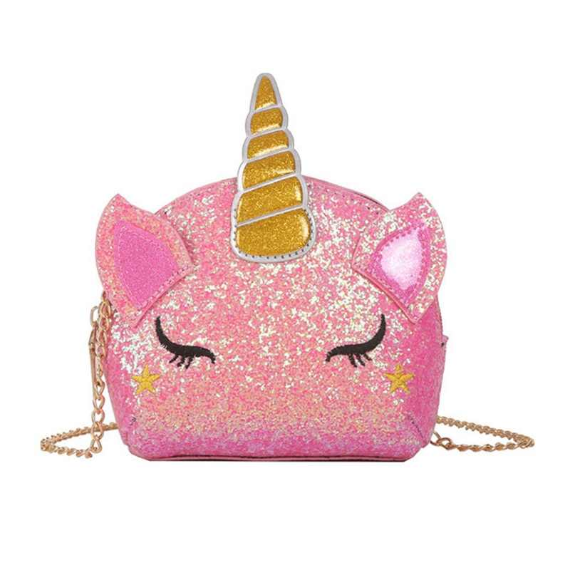 Новый Блестящий рюкзак с единорогом для женщин из искусственной кожи Мини дорожная мягкая сумка модная Школьная Сумка подростковая Студенческая сумка для девочек