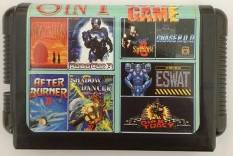 Sega MD Game Card Multi Game Cartridge For 16 bit Sega Mega Drive / Genesis – KE803A