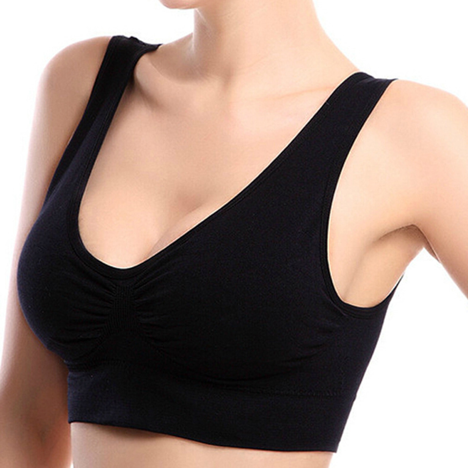 Mode kvinnor vadderade BH sömlösa push up BH plus storlek brassiere backless BH