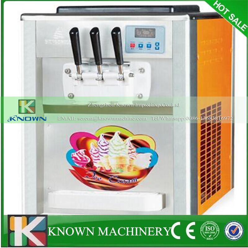 Output 18 25 L/h color spraying material table top soft ice cream machine|soft ice cream machine|cream machine|ice cream machine - title=