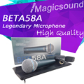 New High Quality Beta 58a !! Vocal Handheld Dynamic Wired Microphone Beta58 Super-cardioid Microfone Beta 58 A Mic