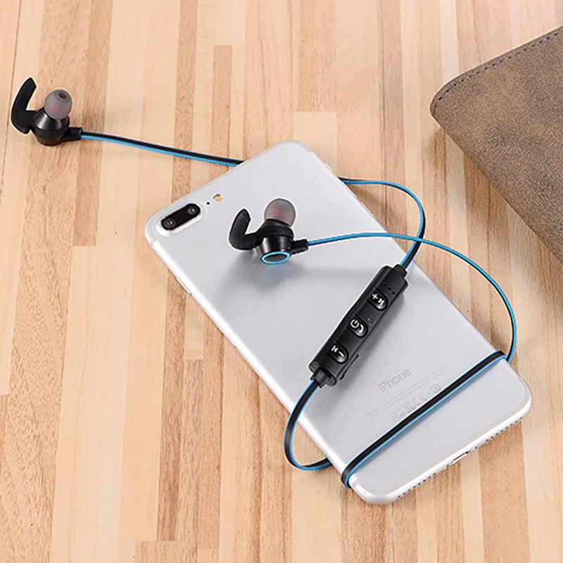 Smart-Noise Reduktion Sport Bluetooth 4,1 Kopfhörer Mit Mic Für Iphone X 7P Xiaomi Stereo Kopfhörer Kalb Horn Bluetooth headse